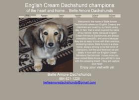 belleamoredachshunds.com