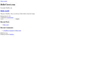 bellecloset.com