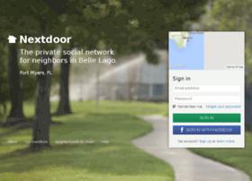 bellelago.nextdoor.com
