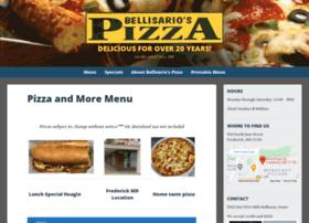 bellisariospizza.com