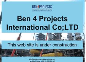 ben4projectsinternational.org