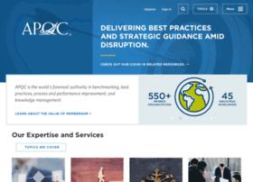 benchmark.apqc.org