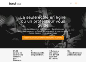 bendnote.com