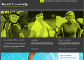 benefitfromactivity.org.uk