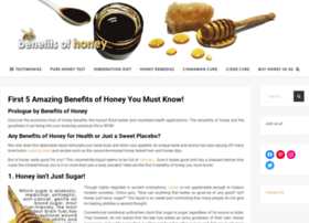 benefits-of-honey.com