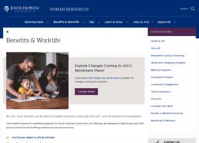 benefits.jhu.edu