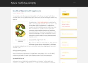 benefitsofnaturalhealthsupplements.wordpress.com