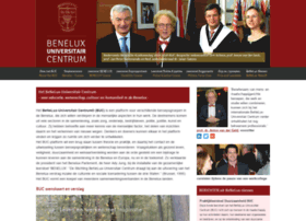 benelux-universitair-centrum.org