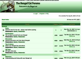 Bengalcatforums.com