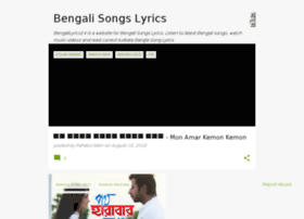 bengalilyrics24.blogspot.com