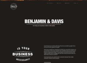 Benjaminanddavis.com