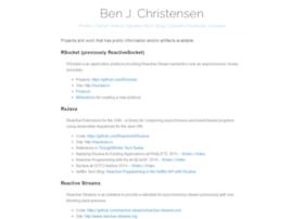 benjchristensen.com