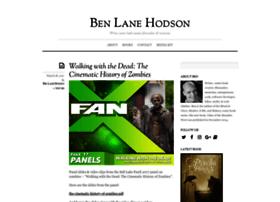 benlanehodson.com