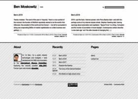 benmoskowitz.com