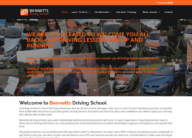 bennettsdrivingschools.co.uk