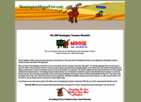benningtonmoosefest.com