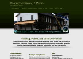 benningtonplanningandpermits.com