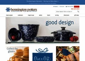 benningtonpotters.com