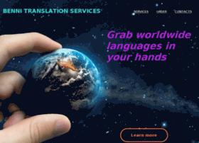 bennitranslationservices.com