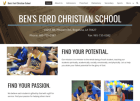 bensfordchristianschool.org