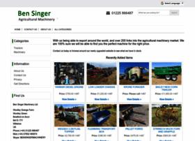 bensingermachinery.co.uk