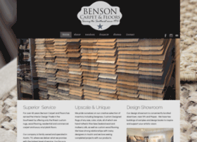bensoncarpet.snappages.com