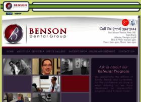 bensondentalgroup.mydentalvisit.com