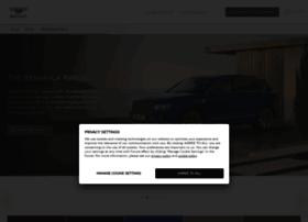 bentayga.bentleymotors.com
