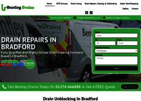 bentleydrains.co.uk