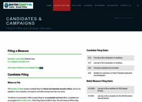 bentonelections.com