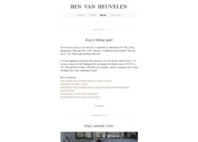 benvanheuvelen.com