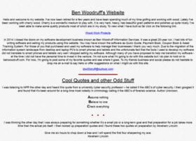 benwoodruff.com