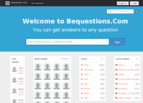 bequestions.com
