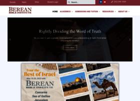 bereanbibleinstitute.org