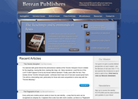 bereanpublishers.com