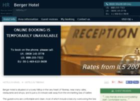 berger-hotel-tiberias.h-rez.com