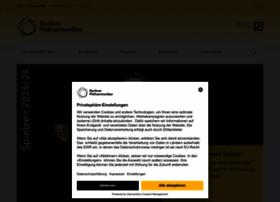 berliner-philharmoniker.de