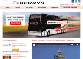 berryscoaches.co.uk