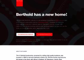 bertholdtypes.com