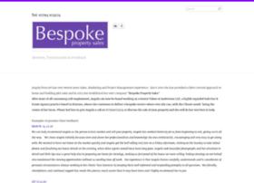 bespokepropertysales.co.uk