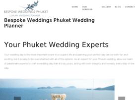 bespokeweddingsphuket.com
