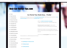 best-car-rental-tips.com