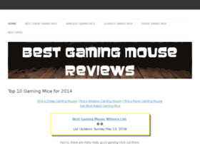 best-gaming-mouse-reviews.siterubix.com