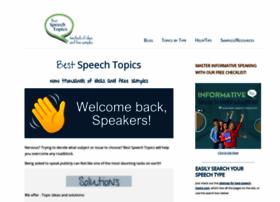 best-speech-topics.com