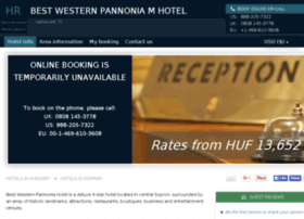best-western-pannonia.hotel-rez.com