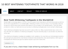 best-whiteningtoothpaste.net