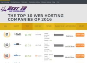 best10webhostingreview.com