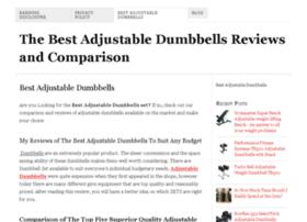bestadjustabledumbbellsnet.com