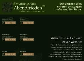 bestattungshausabendfrieden.de