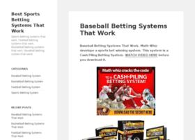 bestbettingsystemsthatwork.wordpress.com